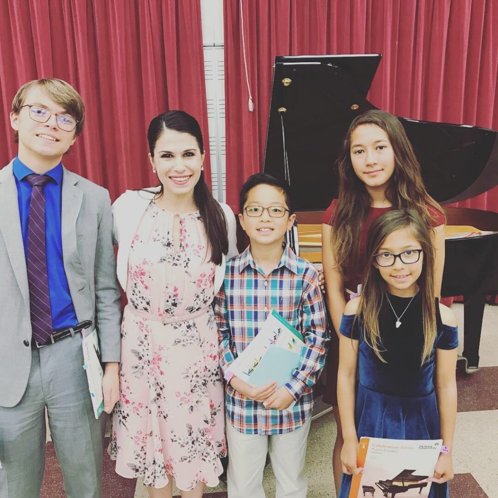 School of Music Offering Private Piano Lessons